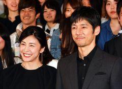 法政大生が大絶叫!西島秀俊&竹内結子が大学にサプライズ登場!