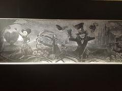 アリス「黒板アート」がスゴすぎ!奥行き感ハンパない