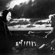 『第七の封印』(1956年)監督:イングマール・ベルイマン 出演:マックス・フォン・シドー 第50回