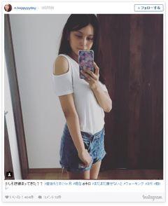 加藤夏希の産後1か月8キロ減量に驚き&心配の声