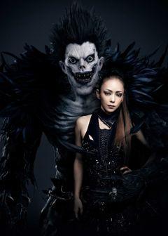 安室奈美恵『デスノート』主題歌&劇中歌に!コラボビジュアルも公開