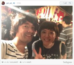 上野樹里と和田唱のお祭りツーショットが幸せそう!
