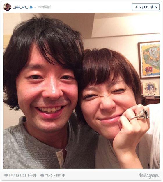 上野樹里、和田唱とラブラブ2ショット!幸せオーラ全開でステキすぎる