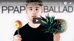 「PPAP」バラード版がカッコよすぎる!ドイツのイケメン歌手がカバー