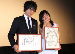 斎藤工が描いたダース・ベイダー、なんか奈良にいそう!