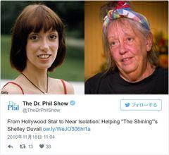 『シャイニング』女優、精神病に苦しむ衝撃の今が公開…「ぞっとするほど残酷」非難殺到