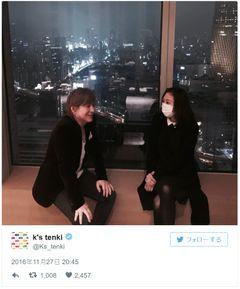 KEIKO、小室哲哉の誕生日に夫婦ツーショット公開!「泣きそうだ」とファン感激