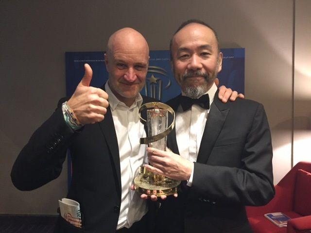 塚本晋也監督、功労賞受賞スピーチに拍手喝采!