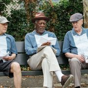 平均80歳以上の最強ジーサンたちが銀行強盗!モーガン・フリーマン&マイケル・ケイン共演作6月日本公開
