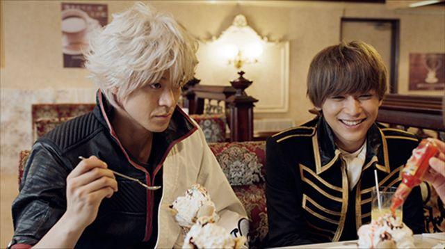 守りたい、この笑顔 , (C)空知英秋/集英社 (C)2017映画「銀魂」製作委員会 (C)2017 dTV