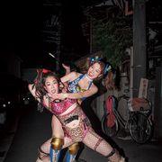 内田理央、女子プロレスラー姿が公開!コブラツイストも披露