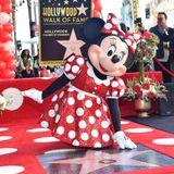 ミニーマウスついにハリウッド殿堂入り!ミッキーに遅れること40年
