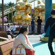 窪田正孝&ニッチェ江上、遊園地で楽しそう『犬猿』撮影の裏側
