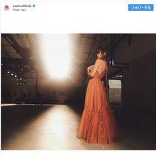 美背中やばっ!紗栄子のバックショットに称賛「綺麗すぎ」