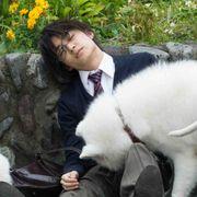 松岡広大、犬に愛されすぎ!『兄友』メイキング映像