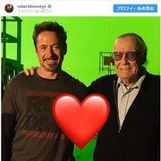 ロバート・ダウニー・Jrさんらマーベル俳優、スタン・リーさんを追悼 SNSでメッセージ