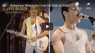 『ボヘミアン・ラプソディ』ライヴ・エイドの完コピがすごい!実際の映像と比較