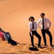 メン・イン・ブラックが砂漠に不時着 新ビジュアル&予告編公開