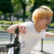 菅田将暉、金髪の高校生に!『タロウのバカ』新ビジュアル
