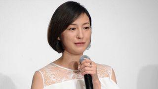 広末涼子、声を震わせ涙…長渕剛の主演映画会見で