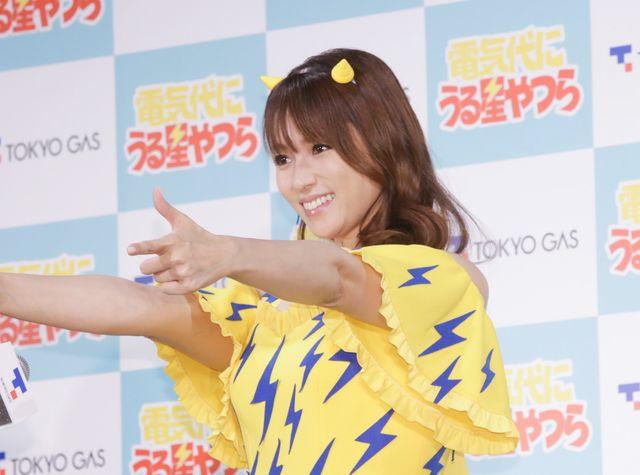 深田恭子、ラムちゃんイメージの衣装が可愛すぎ!