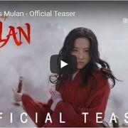 ディズニー実写版『ムーラン』の映像が初公開!