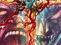 デビルマン&ヘルボーイ!日米ダークヒーローの強烈コラボアート公開