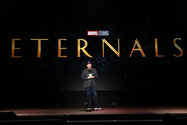 マーベル新作『エターナルズ(原題) / Eternals』ロゴ