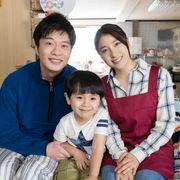 土屋太鳳、田中圭と初の夫婦役 『ヒノマルソウル』親子3ショット公開