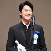 福山雅治、最優秀男優賞受賞で神木隆之介に感謝「何かおごります」