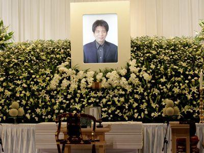 ご冥福をお祈りいたします-森田芳光監督の祭壇