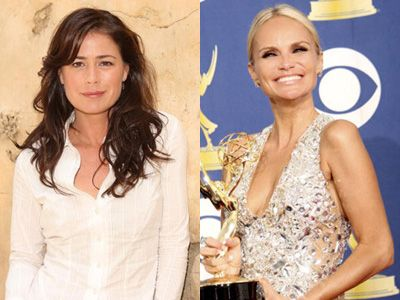 ベテラン女優たちの共演に注目です! - 左からモーラ・ティアニー、クリスティン・チェノウェス
