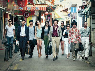韓国で観客動員数歴代ナンバーワン! - 映画『10人の泥棒たち』より