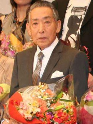 おおさかシネマフェスティバルで主演男優賞を受賞した藤田まことさん
