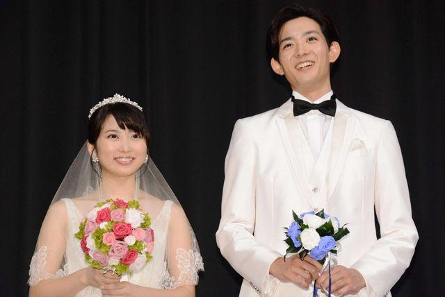 ウエディングドレス&タキシード姿の志田未来と竜星涼にうっとり…