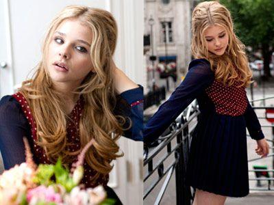 まだ14歳!若手女優ナンバーワンの注目株! クロエ・モレッツの美しさに男子は皆ノックアウト!?