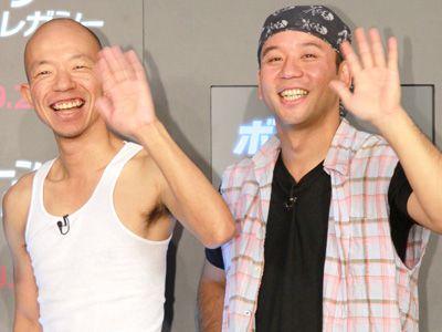 優勝後初の映画イベントに参加したバイきんぐの小峠英二と西村瑞樹