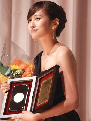 主演女優賞を受賞した前田敦子