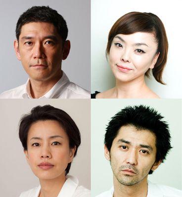 16歳の少年少女の両親をそれぞれ演じる杉本哲太、松田美由紀、渡辺真起子、村上淳