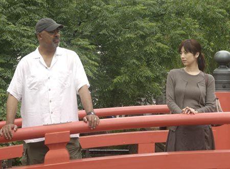 The Harimaya Bridge はりまや橋