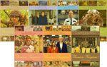 7種類のキャラクターポストカード