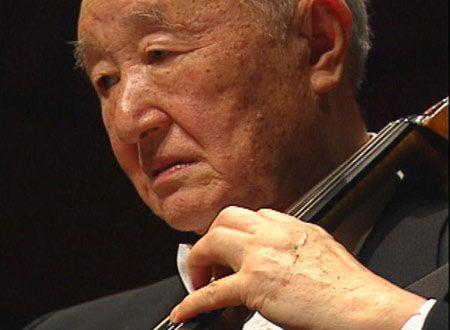 自尊を弦の響きにのせて 96歳のチェリスト青木十良