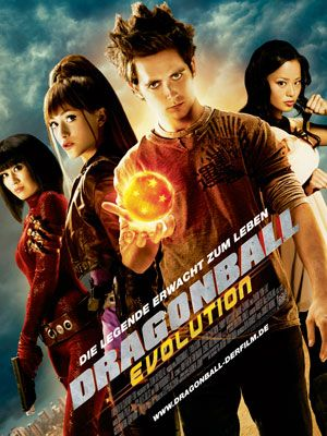 『DRAGONBALL EVOLUTION』のポスター