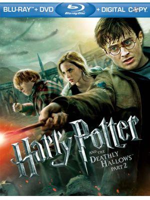 ブルーレイ『ハリー・ポッターと死の秘宝 PART2』ジャケット