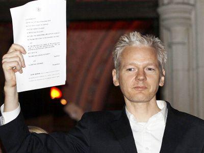 内部告発サイト「ウィキリークス」の創始者ジュリアン・アサンジ容疑者