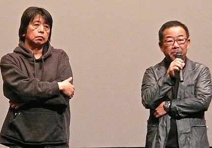 森達也監督と、安岡卓治監督