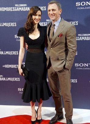 先日、結婚後初めてツーショットを披露してくれたダニエル・クレイグとレイチェル・ワイズ。お幸せに!