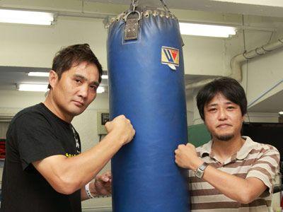 熱い男たちの、拳の物語を作り上げた竹原慎二と城定秀夫監督