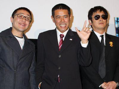 スマイリーキクチ、ノッチ、安田和博