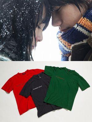 映画『ノルウェイの森』×「アンダーカバー」のオリジナルTシャツ